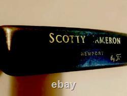 1995 Titleist Scotty Cameron Newport LH original Grip, Shaft, Headcover, ETC