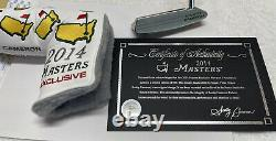 2014 Masters Scotty Cameron Limited Edition Newport 2 Putter TITLEIST COA