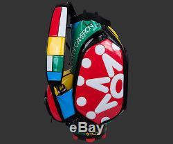 2017 Scotty Cameron Window Pane Multi-Colors Staff Bag 7 Point Crown Titleist