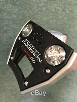 2017 Titleist Scotty Cameron Futura 5S 34 Putter with Headcover Center Shaft