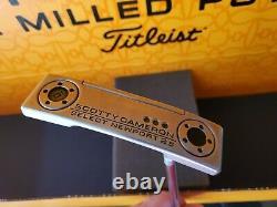 2018 Titleist Scotty Cameron Select Newport 2.5 Putter 35 Custom Shop JJ Stamp