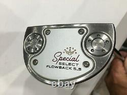 2020 Titleist Scotty Cameron Special Select Flowback 5.5 Putter 34 RH NICE