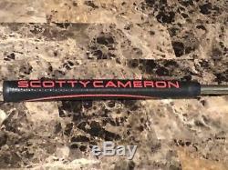 33 2017 Titleist Scotty Cameron Futura 5s (center shaft) putter withnew grip