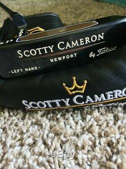 All Original Titleist Scotty Cameron TeI3 Putter Left hand Lefty LH withHeadcover