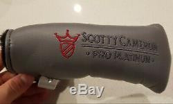 Brand New Titleist Scotty Cameron Pro Platinum Newport 2 34 Golf Putter