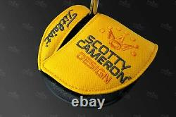 CUSTOM 2019 Titleist Scotty Cameron Phantom X 5 Golf Putter X5 Biohazard