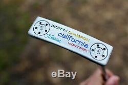 CUSTOM Scotty Cameron Monterey Putter / Titleist / RH / Hand Stamped Smileys