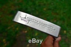 CUSTOM Scotty Cameron Studio Stainless Newport 2 Putter / Titleist / 340 g Head