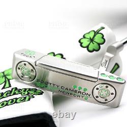 CUSTOM Titleist Scotty Cameron 2018 Select Newport 2 Lucky Clover Golf Putter