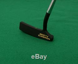 Custom Black Cerakote Titleist Scotty Cameron California Coronado Putter