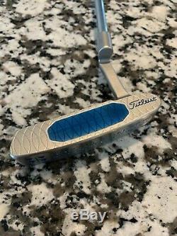 Custom New Titleist Scotty Cameron Studio Style Newport 2 GSS Blue 34 right