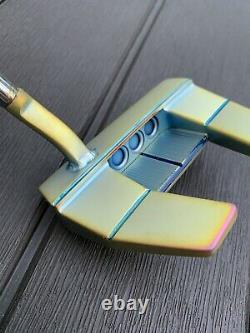 Custom PVD Justin Thomas Weld Neck Titleist Scotty Cameron Futura X5 Putter