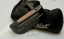 Custom Scotty Cameron Te I3 Del Mar Two Mid Slant Putter + Head Cover