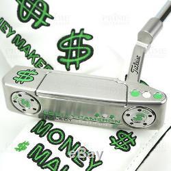 Custom Titleist Scotty Cameron 2018 Newport 2 MONEY MAKER Cash Golf Putter