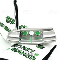 Custom Titleist Scotty Cameron 2018 Squareback Money Cash Edition Golf Putter