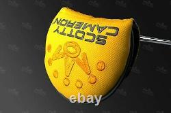 Custom Titleist Scotty Cameron Phantom X 5 Golf Putter X5 Gold Cash Edition
