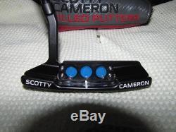 Custom Tour Matte Black Titleist Scotty Cameron Select Newport 2 35 Inch Putter