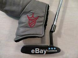 Mint Custom Scotty Cameron Pro Platinum Newport Two Putter-new Pistolero Grip