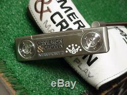 Mint Titleist Scotty Cameron & Crown Newport 2 Putter 33 inch