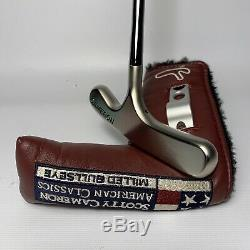 NEW Scotty Cameron Bullseye Titleist Blade Putter With Cover & Divot Tool RARE
