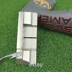 NEW Titleist Scotty Cameron 2018 Select Squareback Putter 34 RH withHeadcover