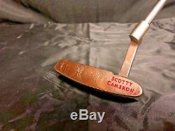 NEW Titleist Scotty Cameron Inspired by David Duval Putter Golf Club 35 withHC