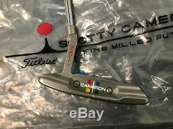 NEW Titleist Scotty Cameron Studio Style Newport 2 34 WithHead cover
