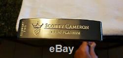 NICE Scotty Cameron Titleist Pro Platinum RH Newport 2 Putter 35 inch with HC