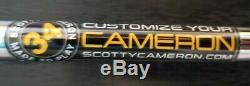 New Scotty Cameron Phantom X 5.5 34 Inch Putter & Cover Titleist