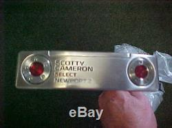 New Scotty Cameron Select Newport 2 34 Inch Putter & Cover Titleist 2016