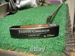 Nice Titleist Scotty Cameron Teryllium Tei3 Santa Fe Putter 35 inch
