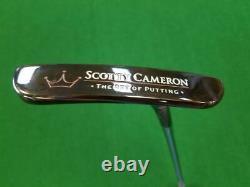 RARE 1998 Scotty Cameron 1st Run 1/500 Coronado Two 35 Putter GREAT Cond