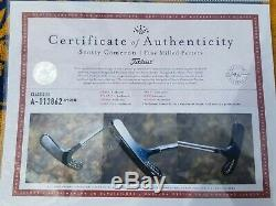 RARE PRE-TITLEIST CLASSIC III BULLSEYE PUTTER REVERSE SOLE ENGRAVING With COA