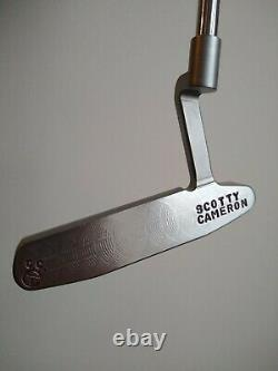 RARE Scotty Cameron circle t newport 2 prototype putter TIGER WOODS