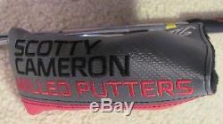 Rare Custom Scotty Cameron Studio Stainless #1 Putter Gun Metal Blue Finish