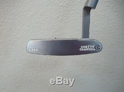 Rare One Of Kind Mint Scotty Cameron Circle T Newport Putter 35 Cover Included