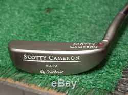 Rare Platinum Titleist Scotty Cameron Napa Putter 35 inch