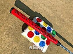 Rare Scotty Cameron Circle T Futura X5 Tour SSS Putter with Designer Weights