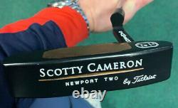 Rare Scotty Cameron Te i3 Newport Two Putter 34 1/2 Titleist