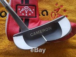 Rare Titleist Scotty Cameron Circa'62 Charcoal Mist No. 7 Putter 35 BRAND NEW