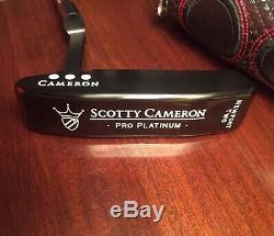 Rare Titleist Scotty Cameron Left Hand Newport 2 Triple Black Custom Tour Head