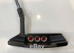 Rare Titleist Scotty Cameron Select Newport 2 Black Mist Golf Putter 34 T Wow