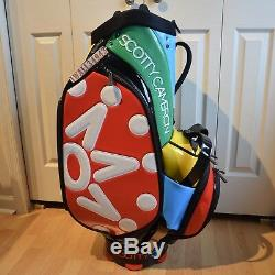SCOTTY CAMERON 2017 Window Pane Staff Bag Titleist Multi-Color 7 Point Crown