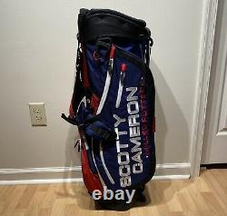 SCOTTY CAMERON 2018 Ryder Cup Americana Stand Bag Titleist Golf Circle T USA