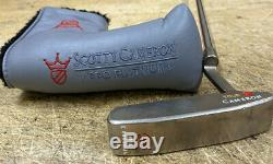 SCOTTY CAMERON NEWPORT 2 II CIRCLE T TOUR only RH Titleist With Headcover red dot