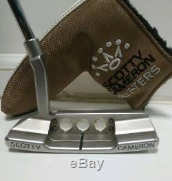 SCOTTY CAMERON NEWPORT 2 LTD EDITION CAMERON & CROWN CUSTOM 33 PUTTER and shop