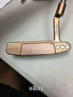 SCOTTY CAMERON SELECT NEWPORT TITLEIST PUTTER Custom COPPER ROSE PVD 34 Inches