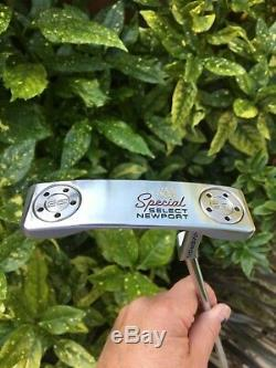 SCOTTY CAMERON SPECIAL SELECT NEWPORT PUTTER (Absolutely Mint Condition)
