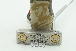 SCOTTY CAMERON THE CLINT LIMITED 2014 With HEADCOVER 35 INCH PUTTER MINT 0730962