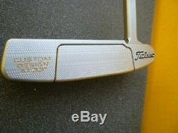 SWEET SCOTTY CAMERON AND CROWN NEWPORT TITLEIST PUTTER 33 With HEAD COVER